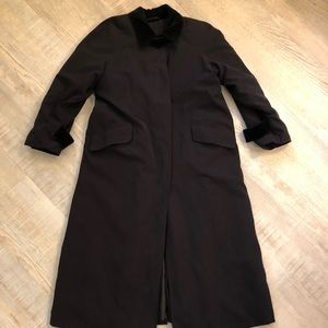Anne Klein long jacket w/ lining